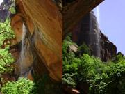 ロウアーエメラルドプールの滝