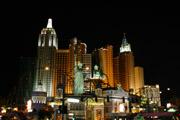 ニューヨークニューヨーク夜景