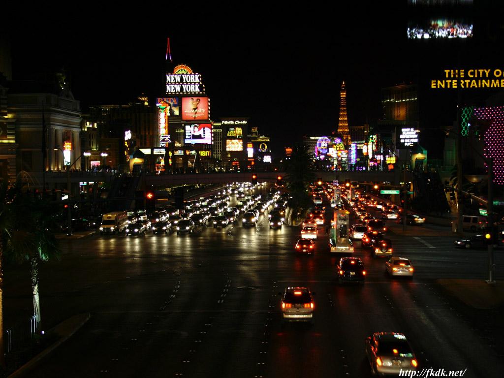 ストリップ通り夜景