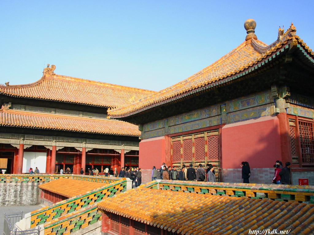 交泰殿と坤寧宮