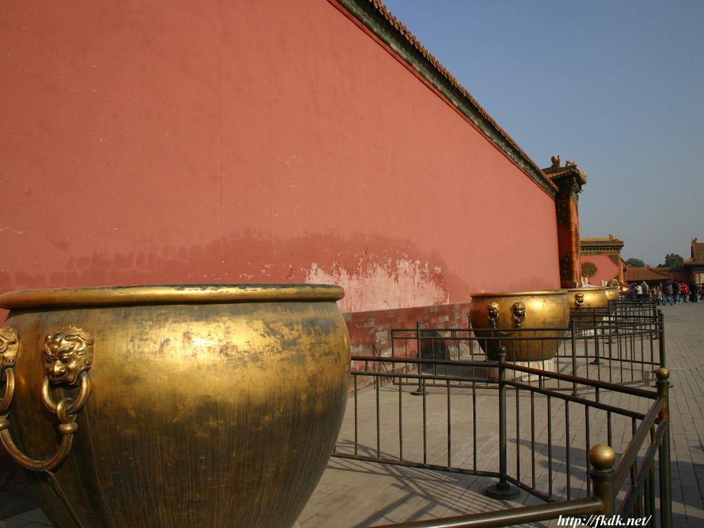 紫禁城の水がめ