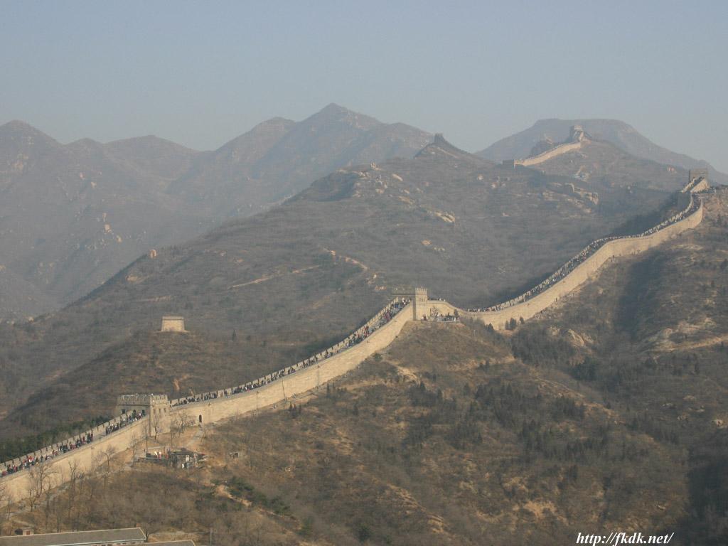 八達嶺長城遠景