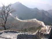 修復前の万里の長城の壁紙
