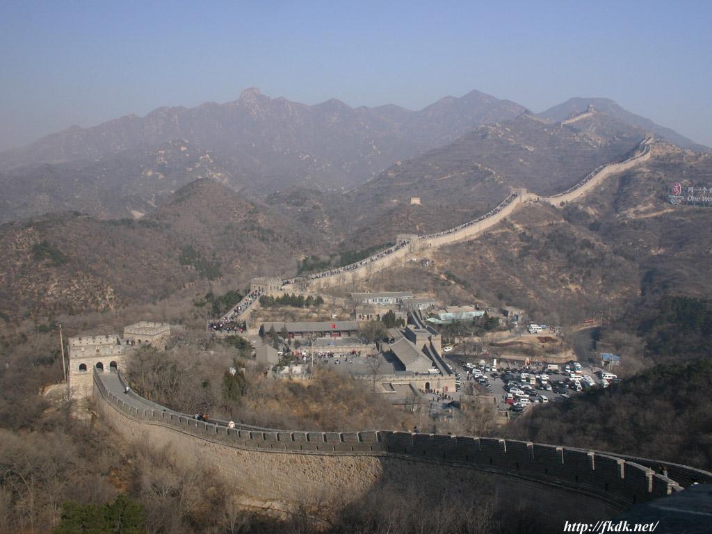 八達嶺長城全景