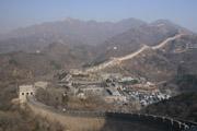 八達嶺長城全景の壁紙