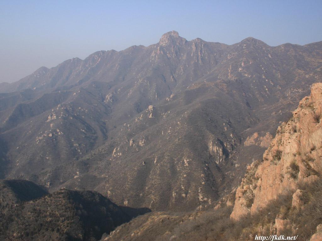 中国の山々