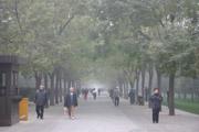 北京の早朝の壁紙