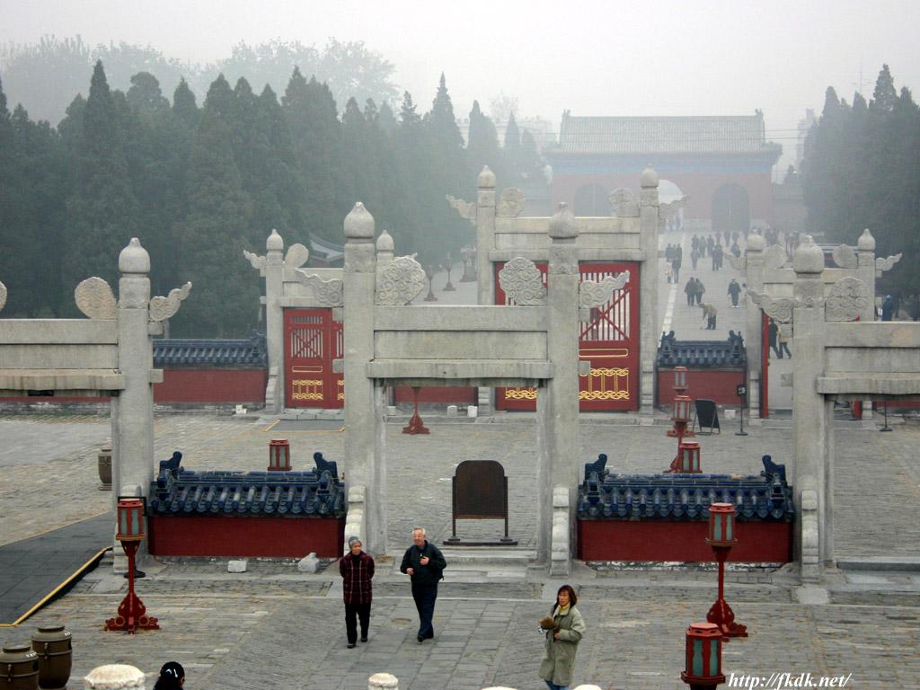 天壇 圜丘からの風景