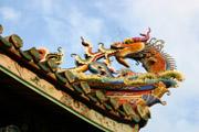 大龍峒保安宮の龍の壁紙
