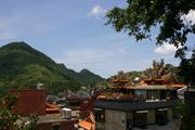 高台からの眺めの壁紙