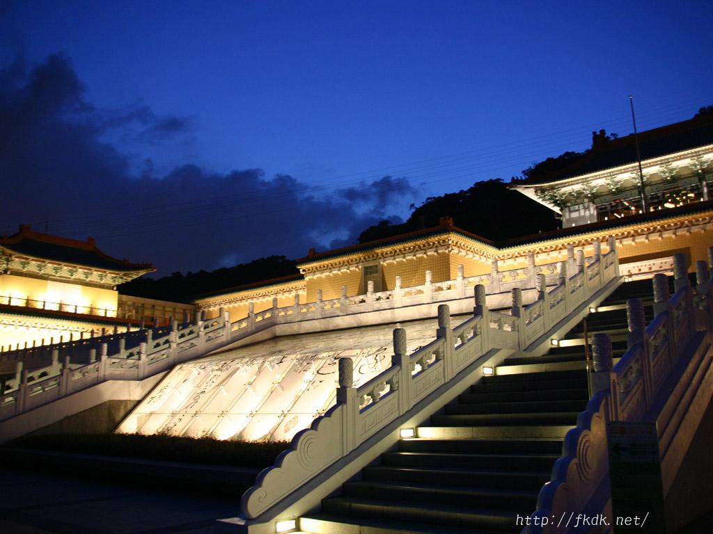 故宮博物院の夜景1