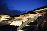 故宮博物院の夜景1の壁紙