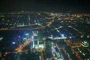 台北101からの夜景の壁紙