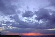 グランドキャニオンの夕焼け2