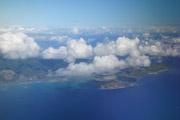 ハナウマ湾付近空撮の壁紙