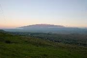 マウナケアの夕焼けの壁紙