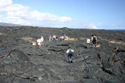 溶岩台地の上の壁紙