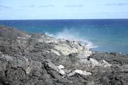 海に落ちる溶岩2の壁紙