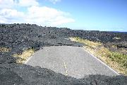 溶岩と道路2の壁紙