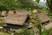 五箇山の菅沼集落の壁紙