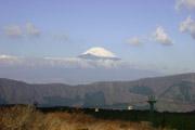 大涌谷からの富士山の壁紙