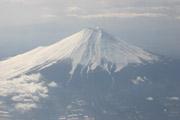 富士山空撮1の壁紙
