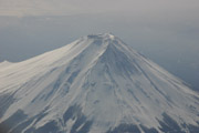 富士山空撮2の壁紙