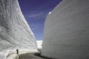 雪の大谷2の壁紙