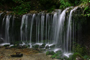白糸の滝3の壁紙