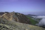 朝日岳方面の壁紙