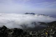 茶臼岳頂上からの景色の壁紙