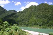 熊野川1の壁紙
