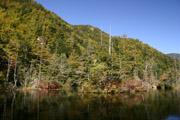 紅葉の明神池2の壁紙