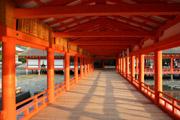 厳島神社内部の壁紙