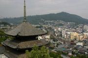 尾道・天寧寺三重塔の壁紙