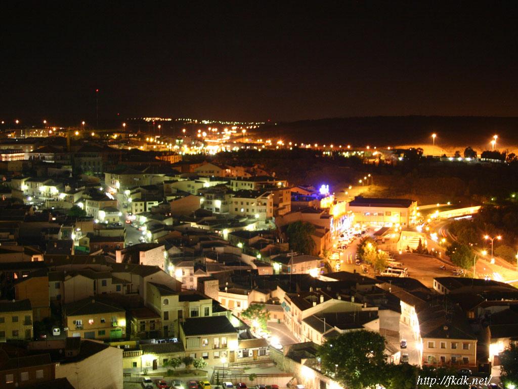 トレドの夜景