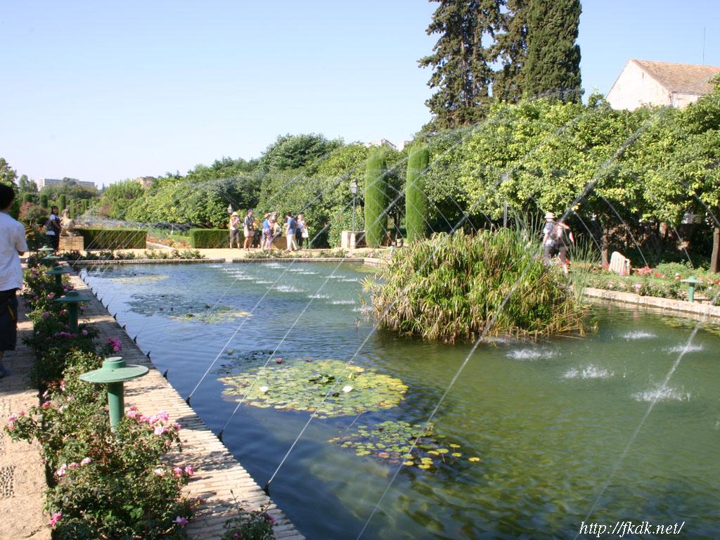 アルカサル庭園の噴水1