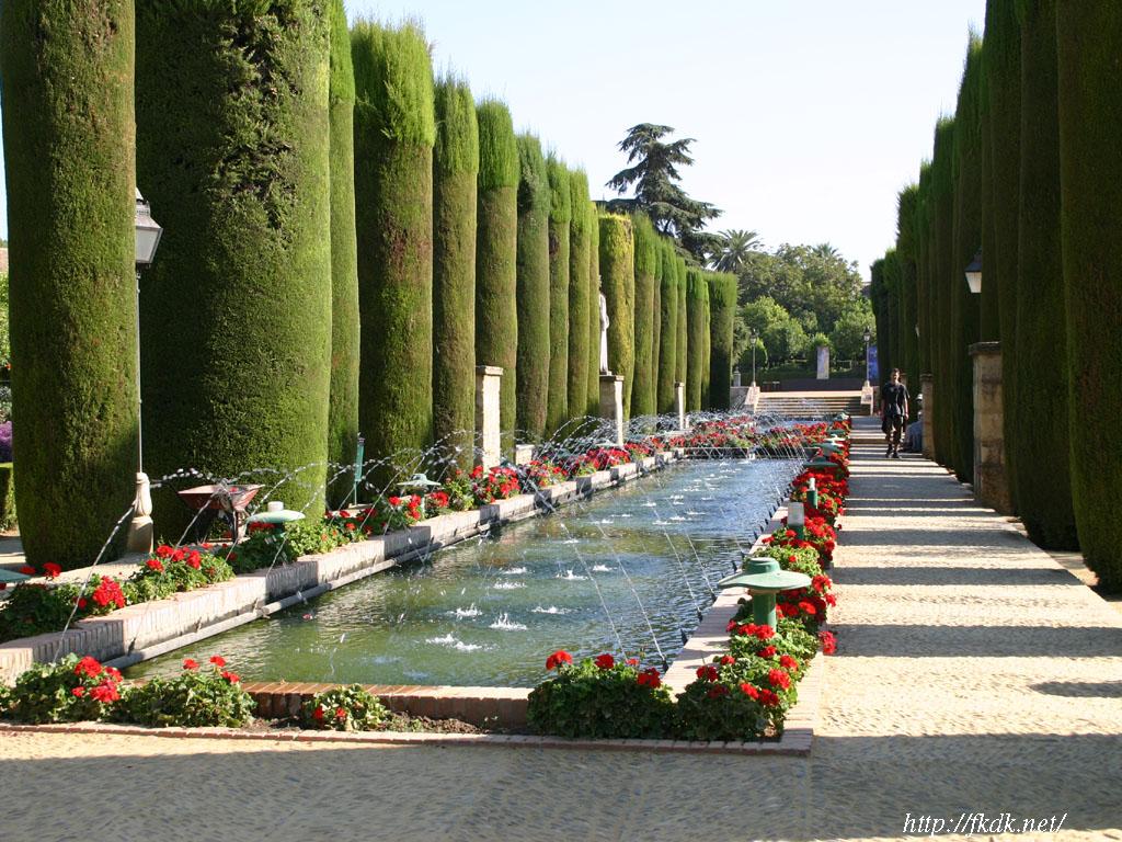 アルカサル庭園の噴水2