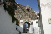 カサレスの路地の壁紙