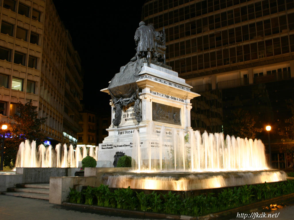 イザベル・ラ・カトリカ広場