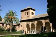 アルハンブラ宮殿内の壁紙