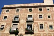 バルセロナの街の壁紙