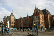 アムステルダム中央駅の壁紙