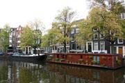 アムステルダムの運河1の壁紙