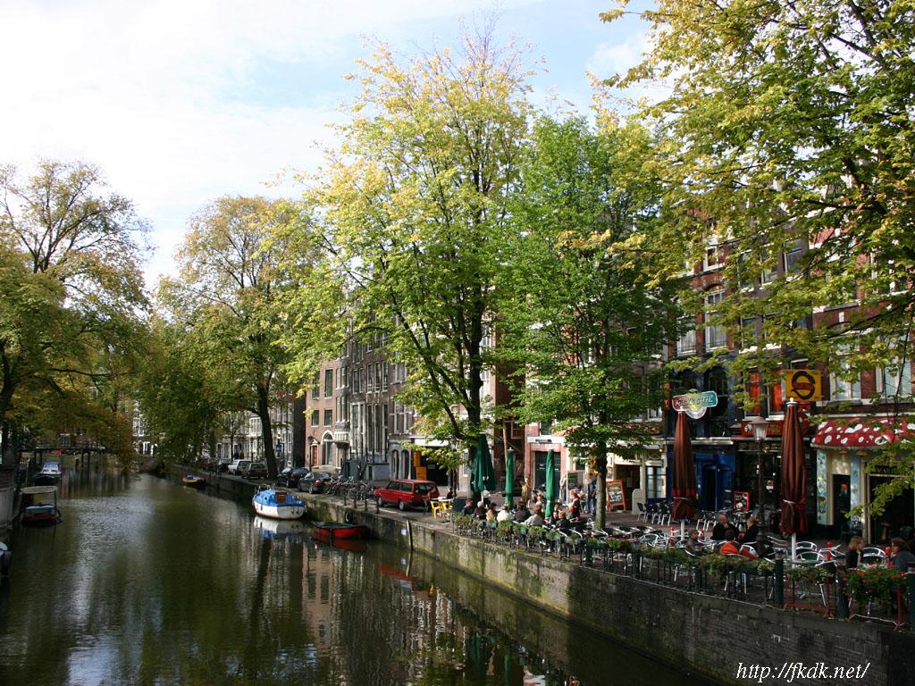 アムステルダムの運河の画像 p1_2