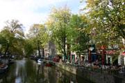 アムステルダムの運河2の壁紙