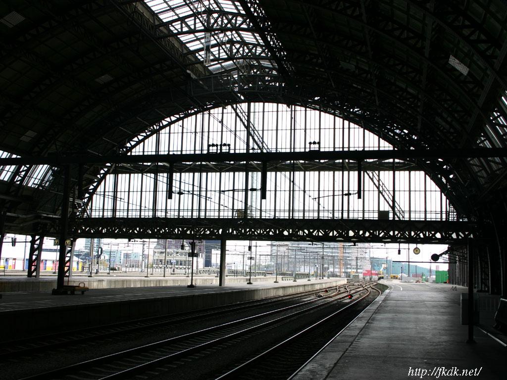 アムステルダム駅構内